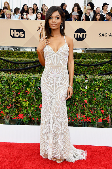 Get Bridal Inspiration From Zuri Halls SAG Awards Dress
