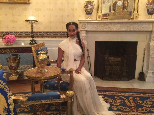 Tracee Ellis Ross X White House State Nordic Dinner