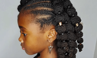 Shanillia's Puffed Ponytails