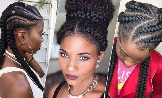 Creative Cornrow Hairstyles