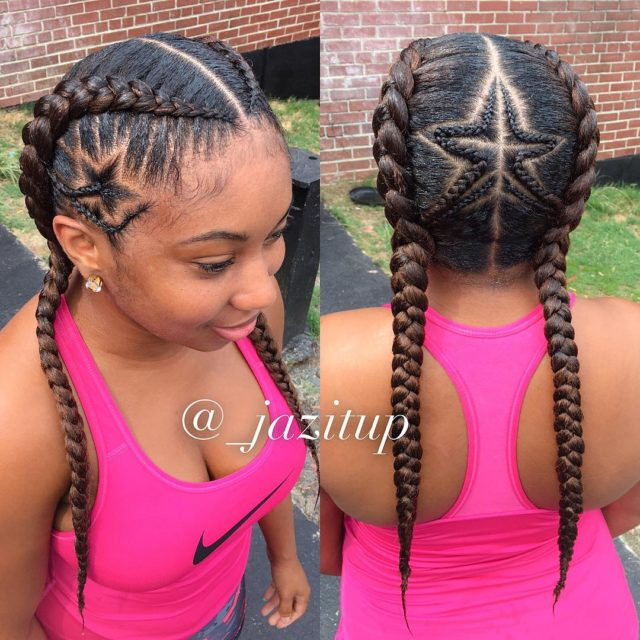 17 Creative Braided Hairstyles Young Woman Slay In 2017