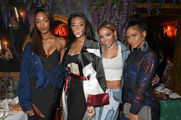 Jourdan, Winnie, Tinashe and Cassie