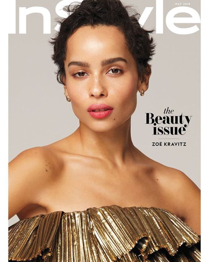 Zoe Kravitz News: [Close-Up] Zoë Kravitz's Spiked Pixie Is Everything In New