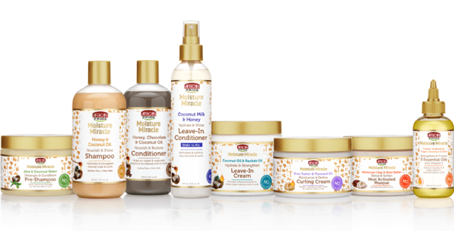 African Pride Moisture Miracle Collection