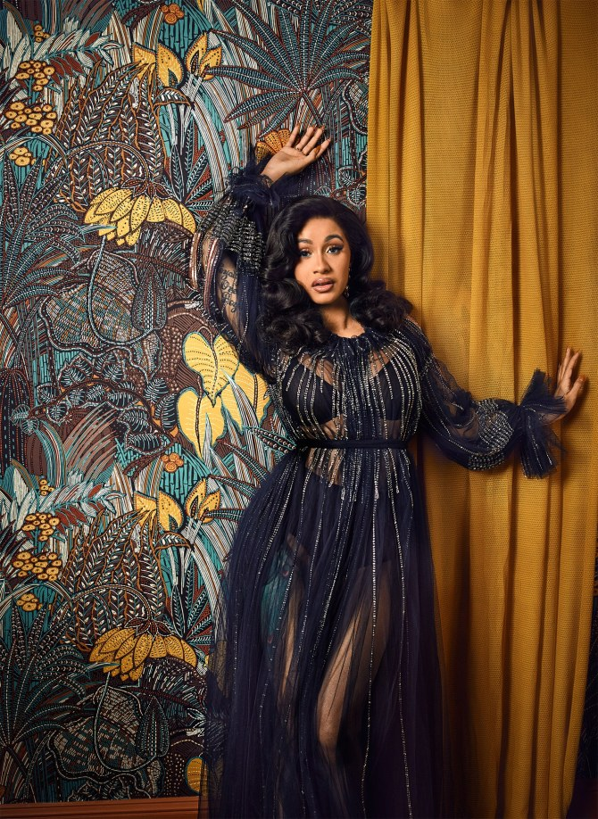 Cardi B X 'W' Art Issue