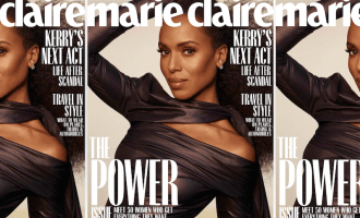 Kerry Washington X Marie Claire
