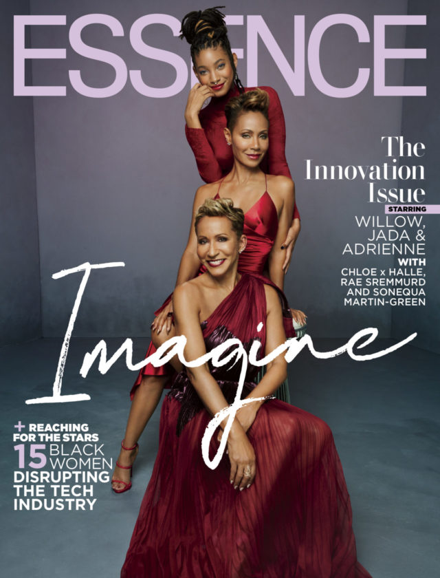 Jada Pinkett Smith, Adrienne Norris & Willow Smith X ESSENCE