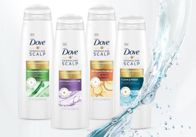 Dove DermaCare collection