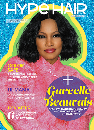 Garcelle Beauvais x Hype Hair March 2020