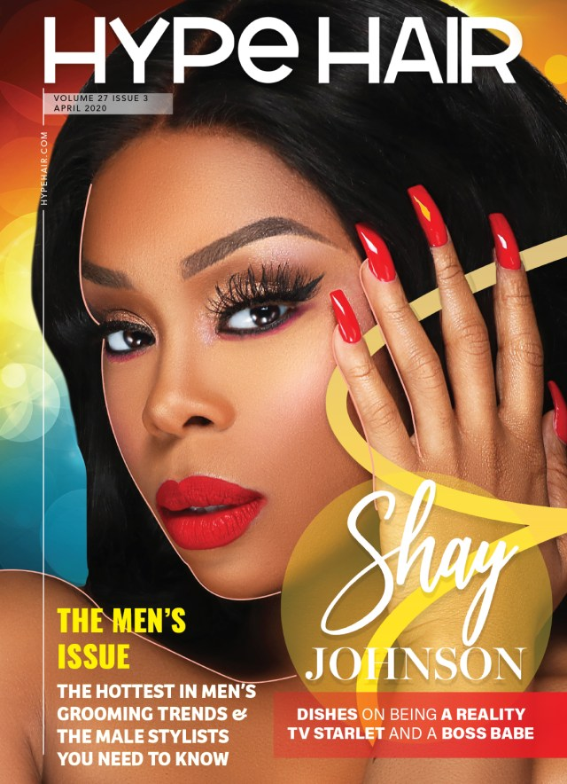 Shay Johnson X April 2020 Cover