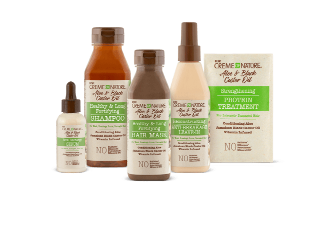 Creme of Nature Aloe Black Collection