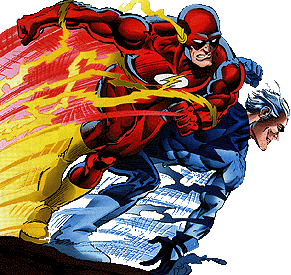 who would win, quicksilver or flash