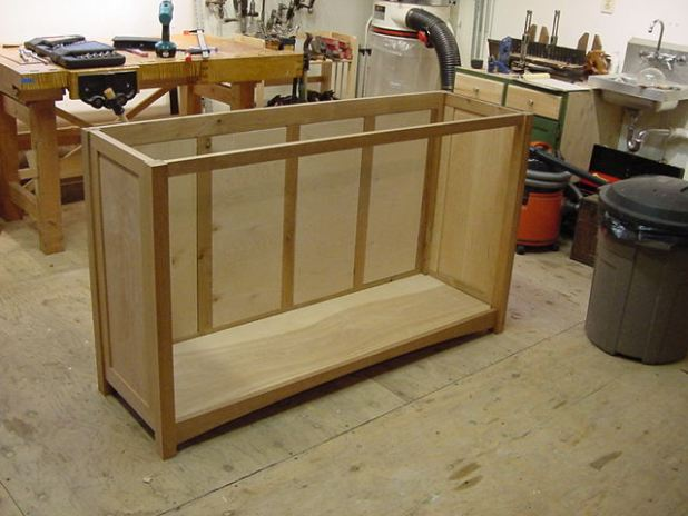 Cabinet carcass construction for Carcass kitchen cabinets