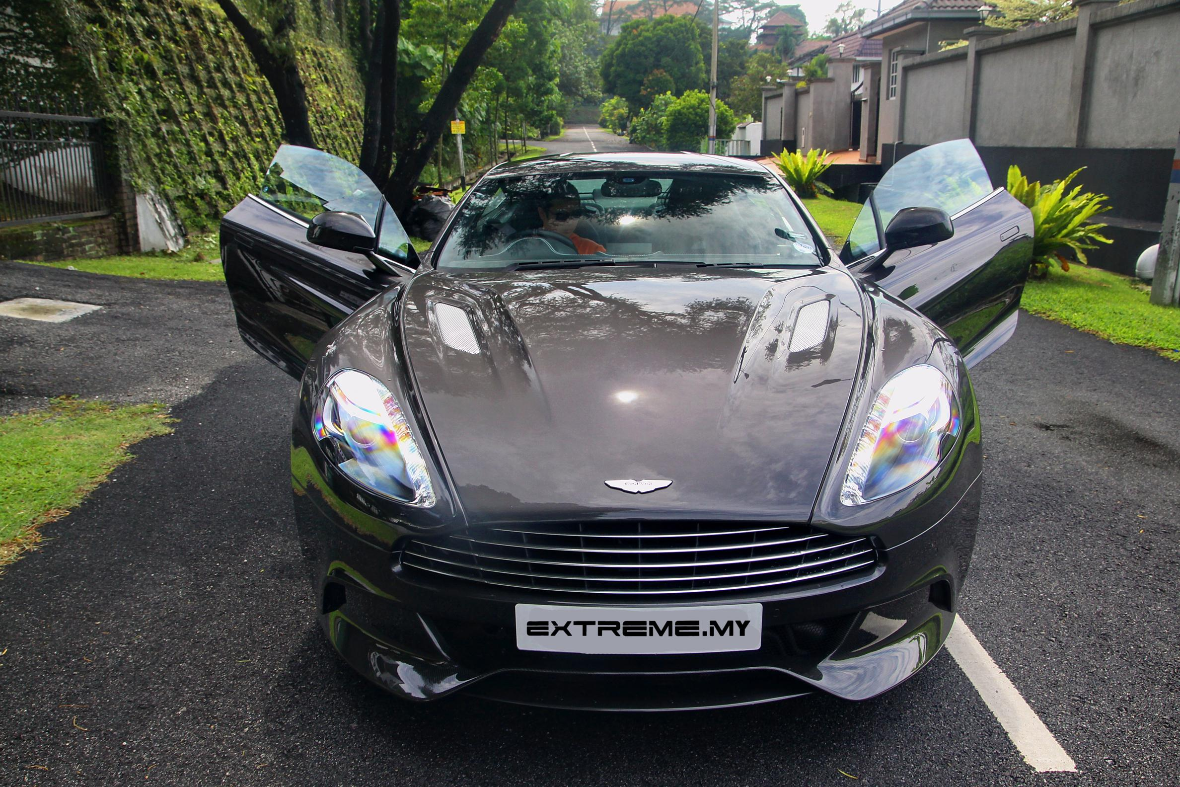 Aston Martin Wedding Car Rental Malaysia