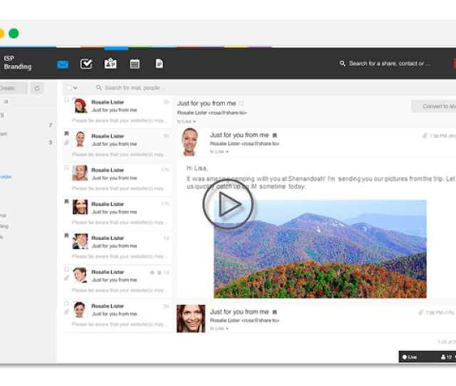 Hyperoffice Email Plus Is A Cloud Based Email Solution For Internet Service Providers