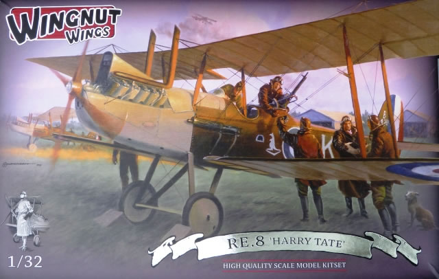RE8 Review By Rob Baumgartner Wingnut Wings 132