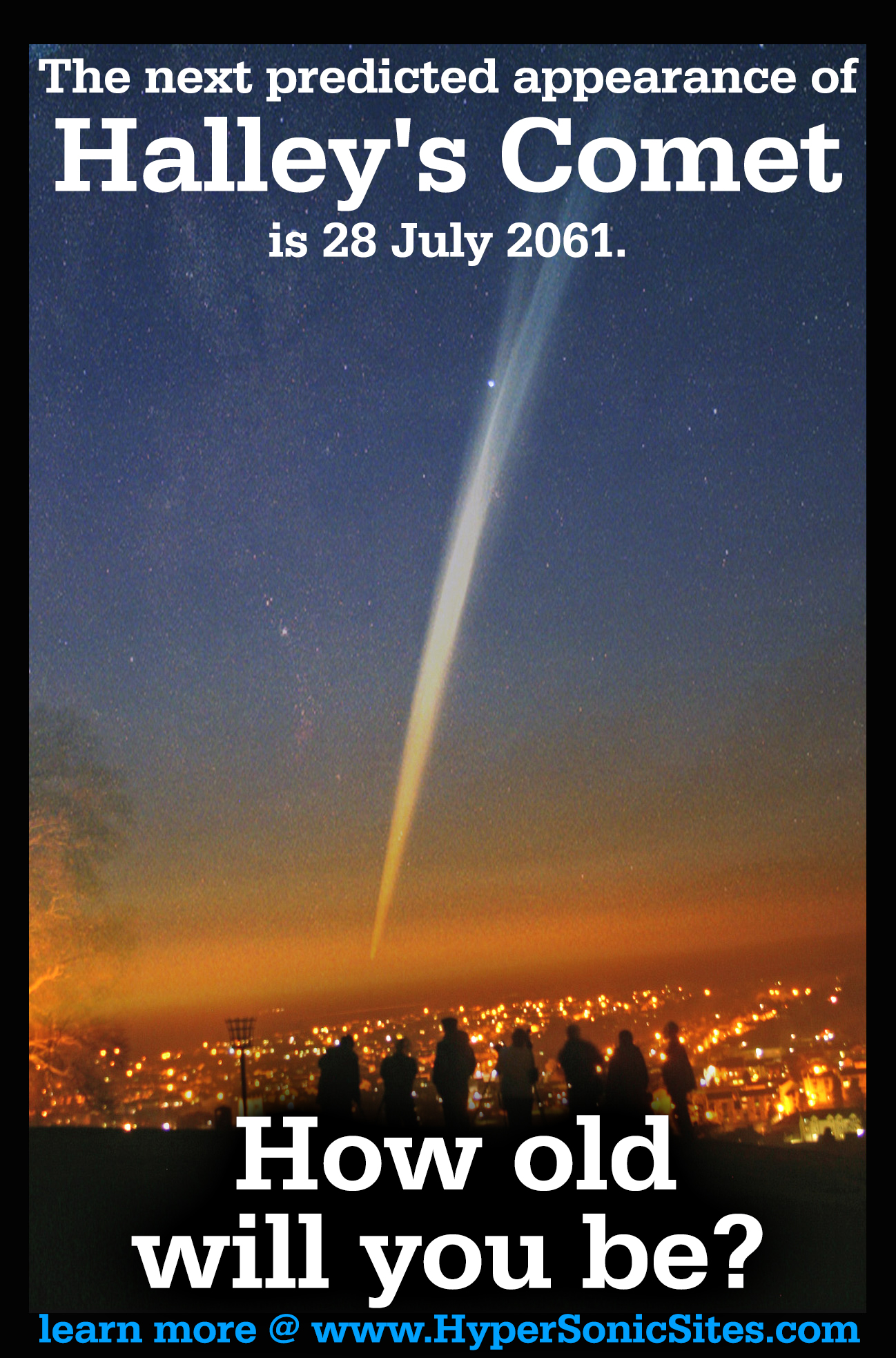 The Next Predicted Appearance Of Halley S Comet Is 28 July