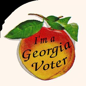 I'm a Georgia Voter Sticker 300