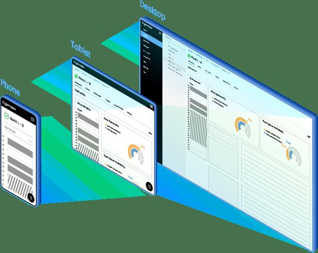 Hyperview DCIM responsive design