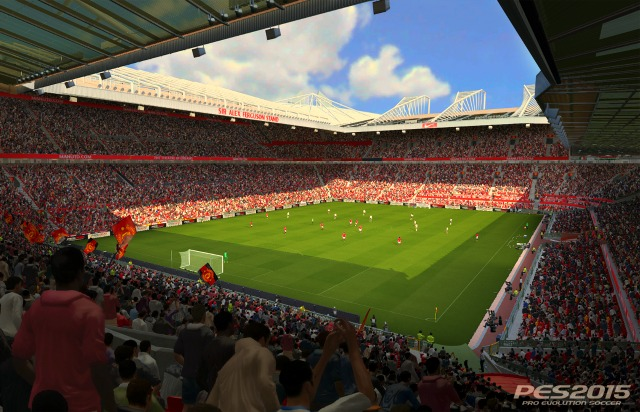 PES 2015 Manchester United Old Trafford