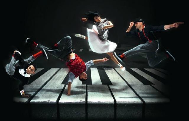 Flyng Bach, c'est le titre du nouveau spectacle de Flying Steps