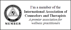 I'm a member of the International Association of Counselors and Therapists. A premier association for wellness practitioners