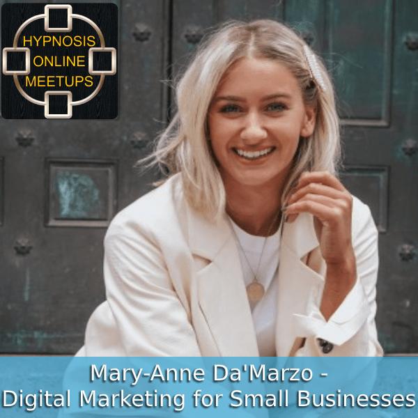 Mary-Anne Da'Marzo Digital Marketing for small businesses