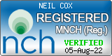 Nch logo neil cox hypnotherapy Bude cornwall