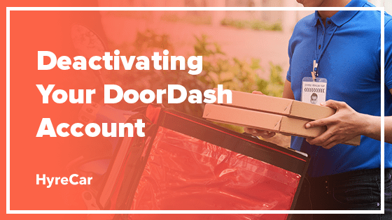 deactivate doordash account