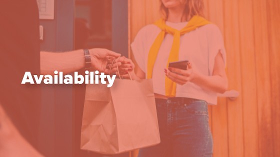 Postmates and DoorDash Availability
