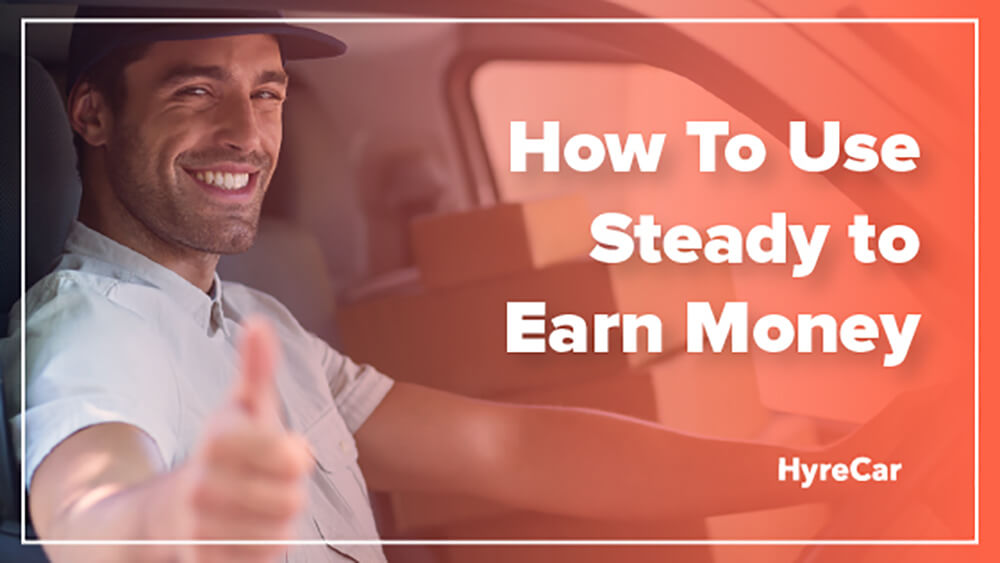 Earn Money through Steady app