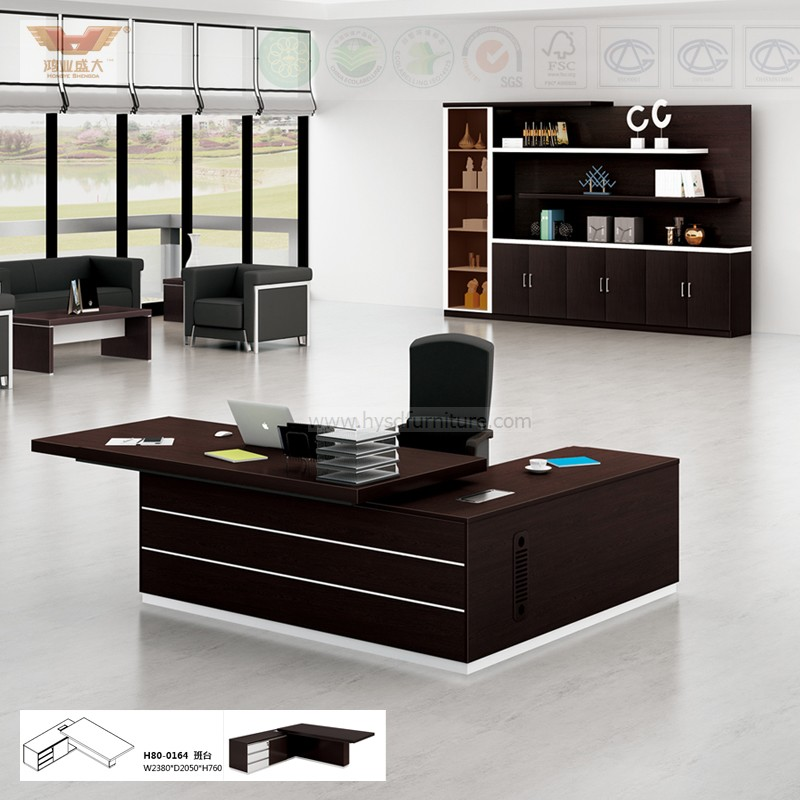 L Shaped Executive Office Desk