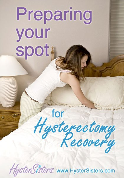 preparing your spot for hysterectomy