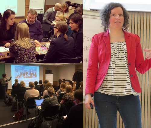 Normkreativa workshops har Hyvää hållit i under 2015