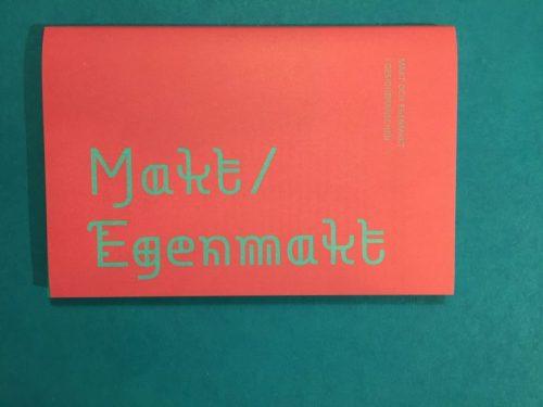 Omslaget av magasinet Makt/Egenmakt av Omforma