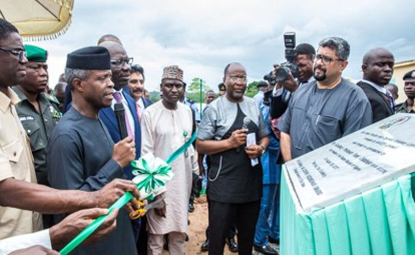 Osinbajo commissions plants