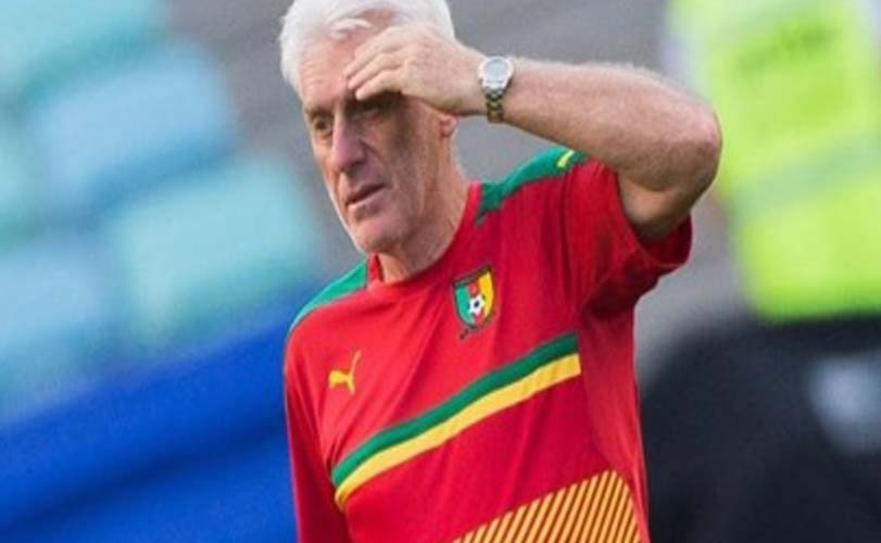 Cameroon coach quits after humiliating loss to Nigeria