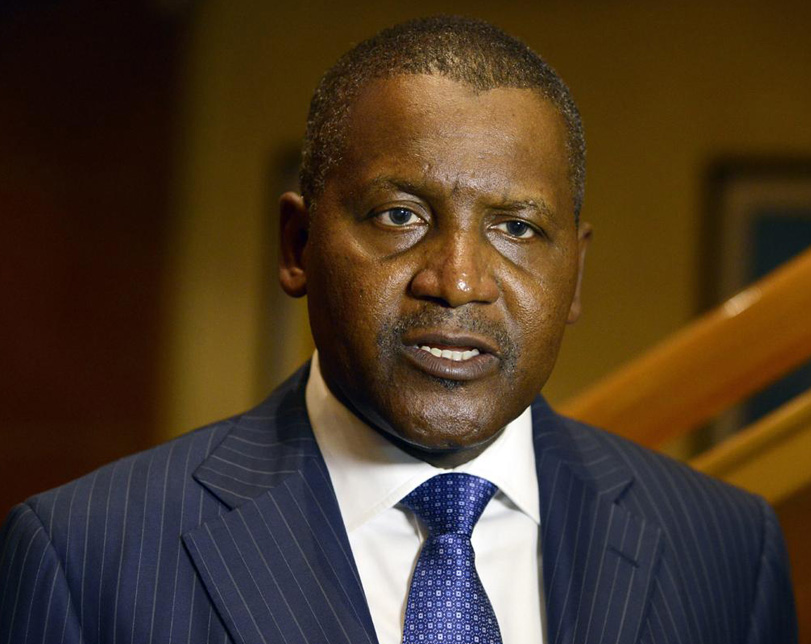 Dangote Gains $5.8bn In One Day, Now 64th Richest Person In The World