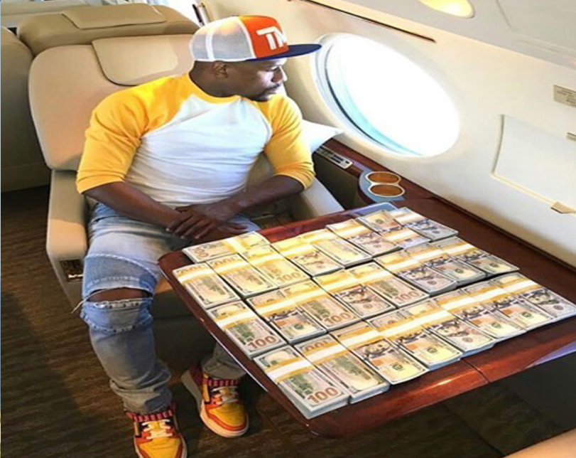Mayweather reveals he has seven girlfriends and they are all happy