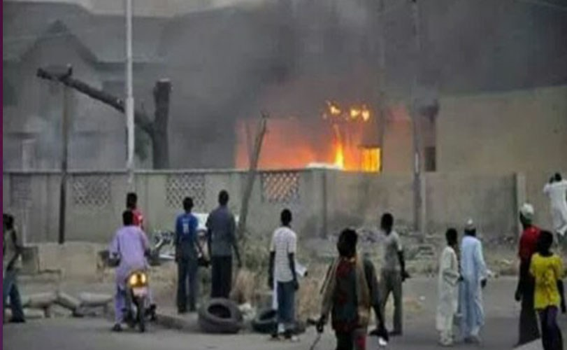 Igbo Market reportedly set on fire in Kaduna State