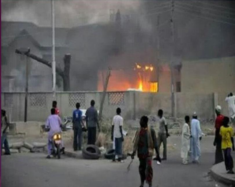 156 Shops Razed As Fire Guts Popular Market In Aba, Abia State