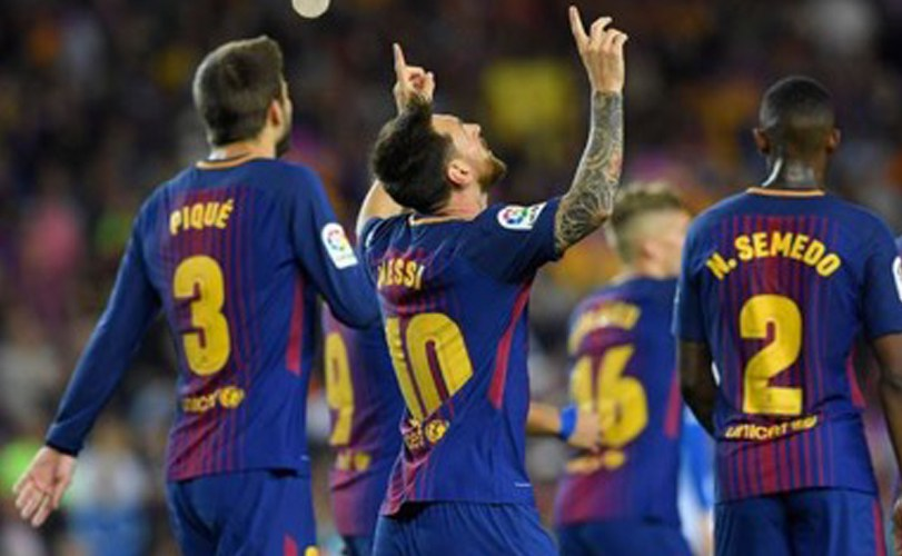 La Liga: Messi nets hat-trick as Barcelona go four points clear of Real Madrid