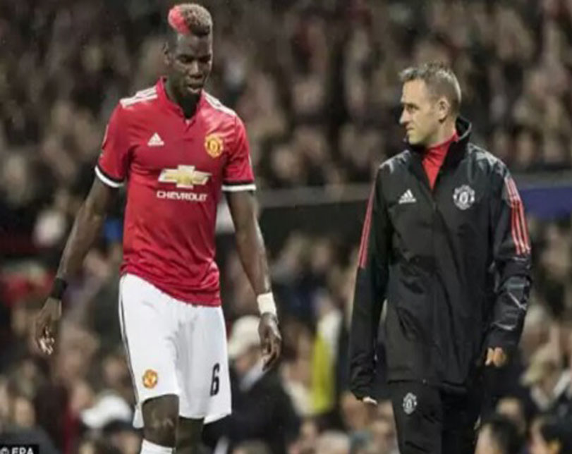 Mourinho angry with Pogba over latest hamstring injury