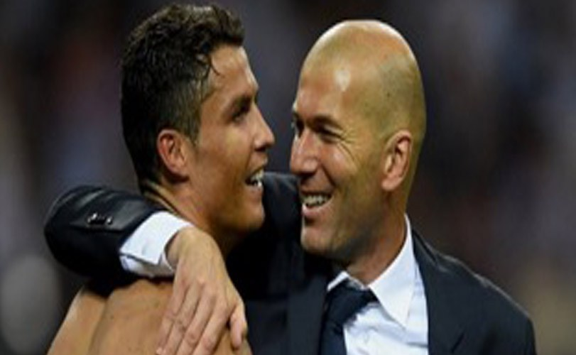 'Cristiano Ronaldo is the best player of his generation' – Zidane