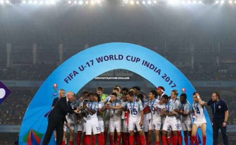 England beat Spain to win U17 World Cup final