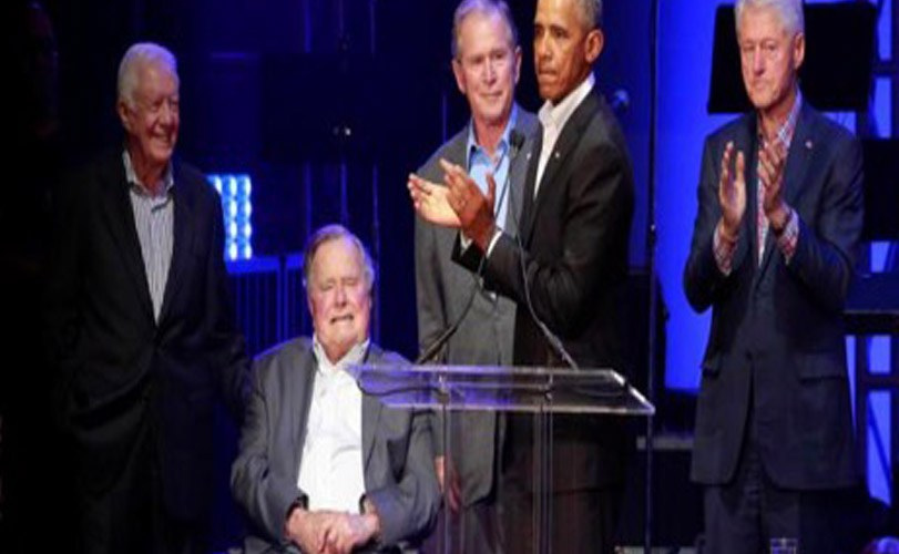 Former U.S. Presidents Gathered In Texas To Raise Money For Hurricane Victims