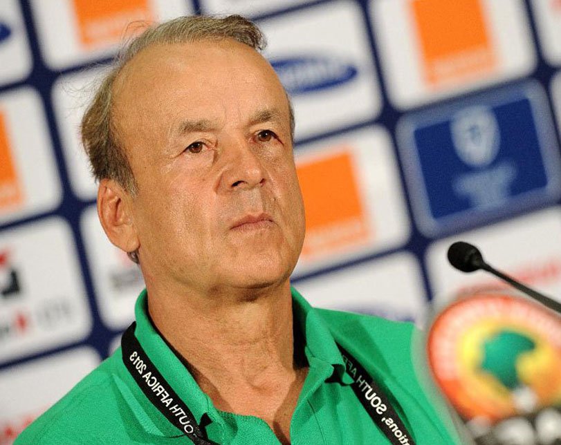 Rohr Reacts To Nigeria's World Cup Exit