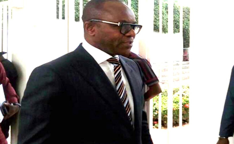 Ibe Kachikwu is in a closed door meeting with President Buhari