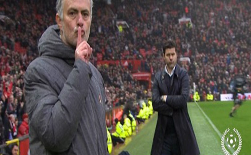 Mourinho explains shut-up gesture after Manchester United vs Tottenham