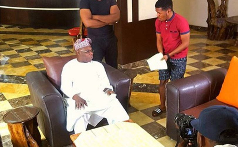 Samuel Ajibola drops Special Episode of 'Dele Issues' starring Olusegun Obasanjo